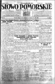 Słowo Pomorskie 1931.10.28 R.11 nr 249
