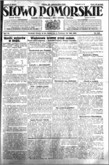 Słowo Pomorskie 1931.10.30 R.11 nr 251