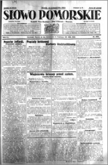 Słowo Pomorskie 1931.10.31 R.11 nr 252