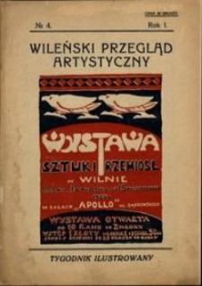 Wileński Przegląd Artystyczny 1924, R. 1 no 4