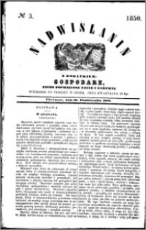 Nadwiślanin, 1850.10.16 R. 1 nr 3