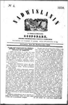 Nadwiślanin, 1850.10.23 R. 1 nr 4