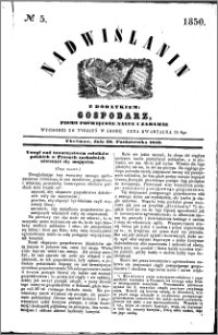 Nadwiślanin, 1850.10.30 R. 1 nr 5
