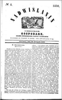 Nadwiślanin, 1850.11.20 R. 1 nr 8