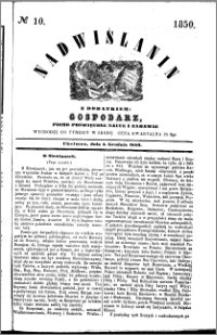 Nadwiślanin, 1850.12.04 R. 1 nr 10