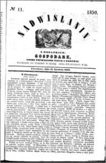 Nadwiślanin, 1850.12.11 R. 1 nr 11