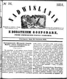 Nadwiślanin, 1851.06.25 R. 2 nr 26