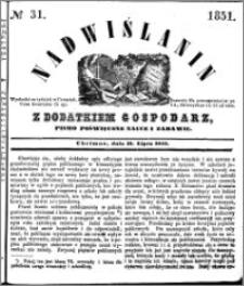 Nadwiślanin, 1851.07.31 R. 2 nr 31