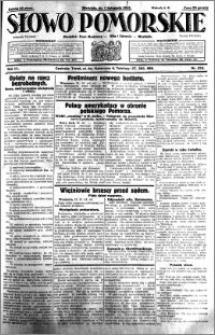 Słowo Pomorskie 1931.11.01 R.11 nr 253