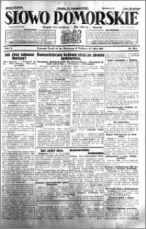 Słowo Pomorskie 1931.11.14 R.11 nr 264
