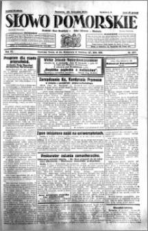 Słowo Pomorskie 1931.11.29 R.11 nr 277