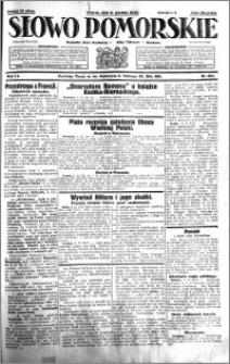 Słowo Pomorskie 1931.12.08 R.11 nr 284