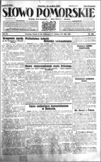 Słowo Pomorskie 1931.12.10 R.11 nr 285