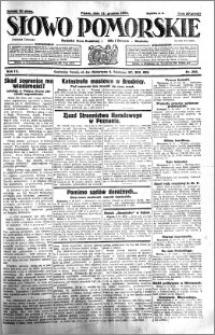 Słowo Pomorskie 1931.12.11 R.11 nr 286