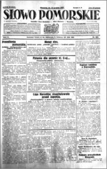 Słowo Pomorskie 1931.12.13 R.11 nr 288