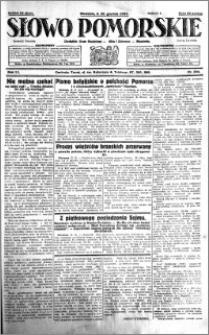 Słowo Pomorskie 1931.12.20 R.11 nr 294