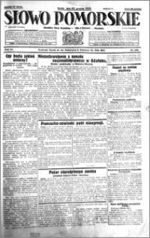 Słowo Pomorskie 1931.12.23 R.11 nr 296