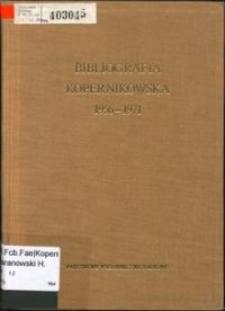 Bibliografia kopernikowska. 2, 1956-1971