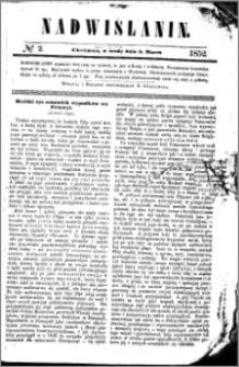Nadwiślanin, 1852.03.03 R. 3 nr 2