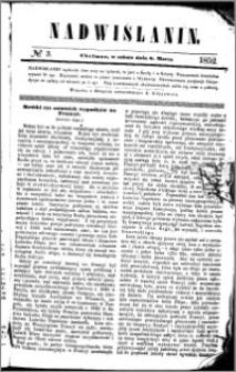 Nadwiślanin, 1852.03.06 R. 3 nr 3