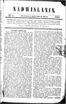 Nadwiślanin, 1852.03.13 R. 3 nr 5
