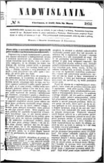 Nadwiślanin, 1852.03.24 R. 3 nr 8