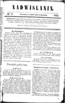 Nadwiślanin, 1852.04.03 R. 3 nr 11