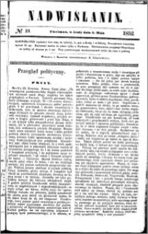 Nadwiślanin, 1852.05.05 R. 3 nr 19