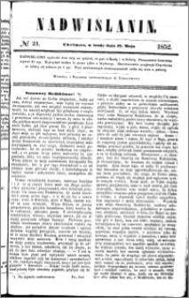 Nadwiślanin, 1852.05.12 R. 3 nr 21
