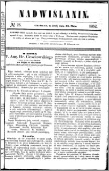Nadwiślanin, 1852.05.26 R. 3 nr 25