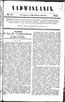 Nadwiślanin, 1852.06.09 R. 3 nr 28