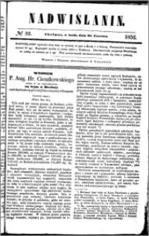Nadwiślanin, 1852.06.23 R. 3 nr 32