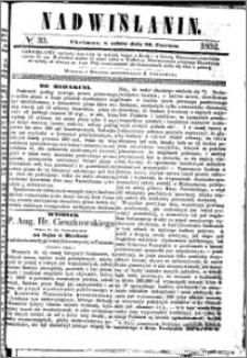 Nadwiślanin, 1852.06.26 R. 3 nr 33
