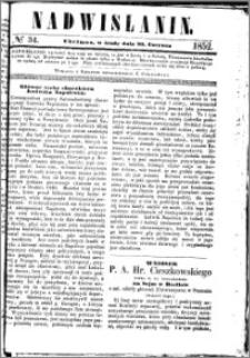 Nadwiślanin, 1852.06.30 R. 3 nr 34