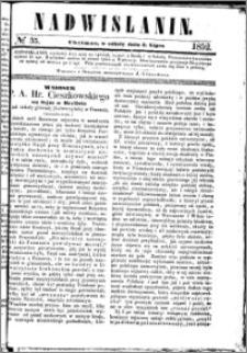 Nadwiślanin, 1852.07.03 R. 3 nr 35