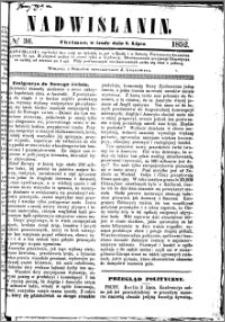 Nadwiślanin, 1852.07.07 R. 3 nr 36
