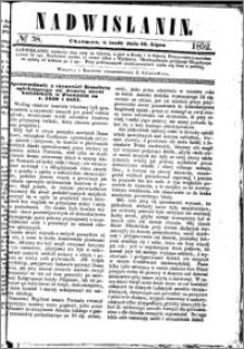 Nadwiślanin, 1852.07.14 R. 3 nr 38