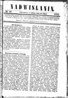 Nadwiślanin, 1852.07.17 R. 3 nr 39