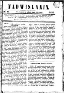 Nadwiślanin, 1852.07.24 R. 3 nr 41