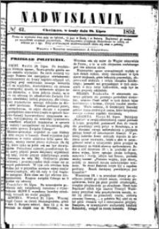 Nadwiślanin, 1852.07.28 R. 3 nr 42