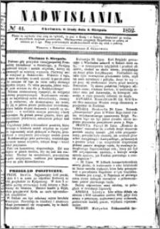 Nadwiślanin, 1852.08.04 R. 3 nr 44