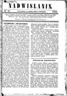 Nadwiślanin, 1852.08.07 R. 3 nr 45
