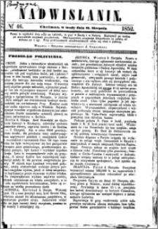Nadwiślanin, 1852.08.11 R. 3 nr 46