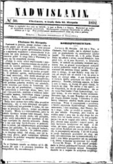 Nadwiślanin, 1852.08.25 R. 3 nr 50