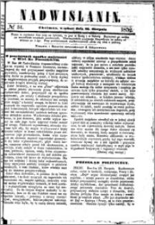 Nadwiślanin, 1852.08.28 R. 3 nr 51