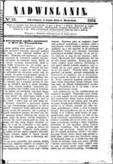 Nadwiślanin, 1852.09.01 R. 3 nr 52