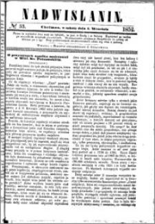 Nadwiślanin, 1852.09.04 R. 3 nr 53