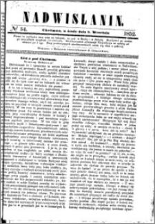 Nadwiślanin, 1852.09.08 R. 3 nr 54