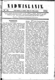 Nadwiślanin, 1852.09.11 R. 3 nr 55