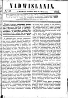 Nadwiślanin, 1852.09.18 R. 3 nr 57